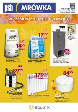 Gazetka promocyjna PSB Mrówka - Wrzesień złotych promocji - Starogard Gdański