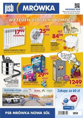 Gazetka promocyjna PSB Mrówka - Wrzesień złotych promocji - Nowa Sól