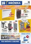 Gazetka promocyjna PSB Mrówka - Wrzesień złotych promocji - Lubliniec