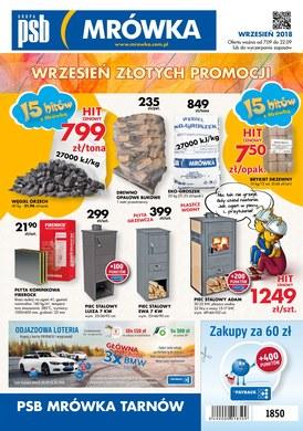 Gazetka promocyjna PSB Mrówka - Wrzesień złotych promocji - Tarnów