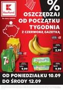 Gazetka promocyjna Kaufland - Gazetka promocyjna   - ważna do 12-09-2018