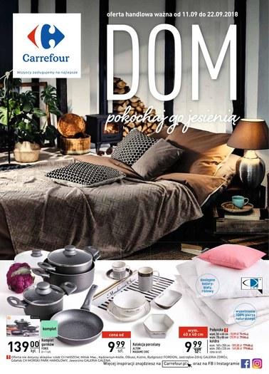 Gazetka promocyjna Carrefour, ważna od 11.09.2018 do 22.09.2018.