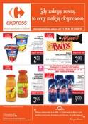 Gazetka promocyjna Carrefour Express - Gdy zakupy rosną, to ceny maleją ekspresowo - ważna do 17-09-2018