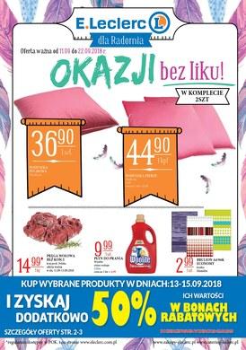 Gazetka promocyjna E.Leclerc - Okazji bez liku - Radom