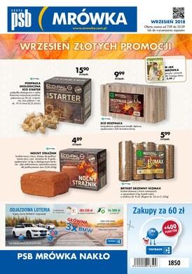 Gazetka promocyjna PSB Mrówka - Wrzesień złotych promocji - Nakło