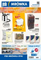 Gazetka promocyjna PSB Mrówka - Oferta handlowa - Ryki