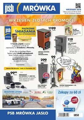 Gazetka promocyjna PSB Mrówka - Oferta handlowa - Jasło
