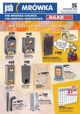 Gazetka promocyjna PSB Mrówka - Oferta handlowa - Gniewkowo, Chełmża
