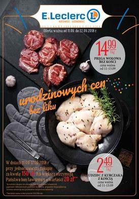Gazetka promocyjna E.Leclerc - Urodzinowych cen bez liku - Katowice