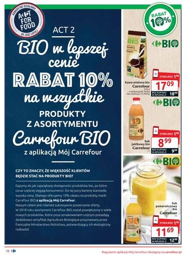 Gazetka promocyjna Carrefour, ważna od 11.09.2018 do 30.09.2018.