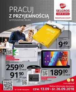 Gazetka promocyjna Selgros Cash&Carry, ważna od 13.09.2018 do 26.09.2018.