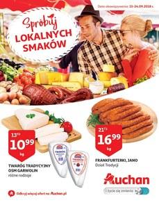 Gazetka promocyjna Auchan, ważna od 13.09.2018 do 24.09.2018.