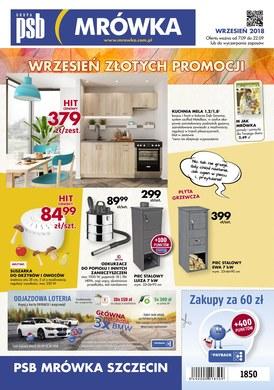 Gazetka promocyjna PSB Mrówka - Wrzesień złotych promocji - Szczecin