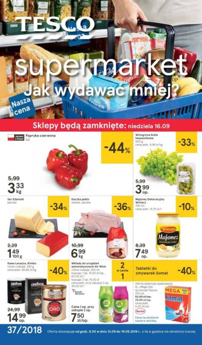 Tesco Supermarket: 1 gazetka