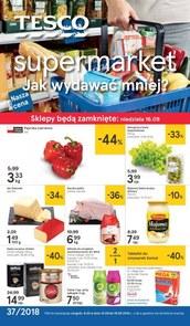 Gazetka promocyjna Tesco Supermarket, ważna od 13.09.2018 do 19.09.2018.