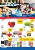 Gazetka promocyjna Tesco Supermarket - Jak wydawać mniej? - supermarket - ważna do 19-09-2018