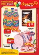 Gazetka promocyjna Gram Market - Urodzinowe mega okazje