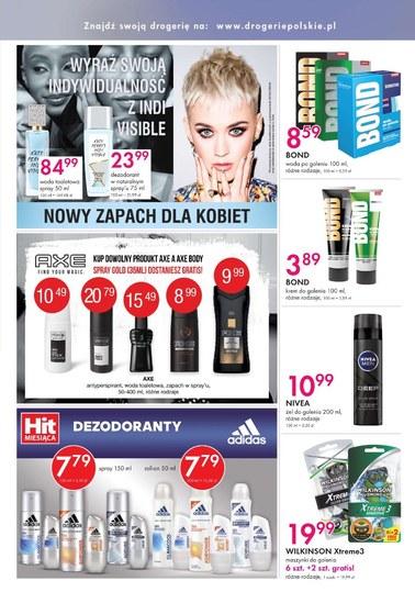 Gazetka promocyjna Drogerie Polskie, ważna od 14.09.2018 do 28.09.2018.