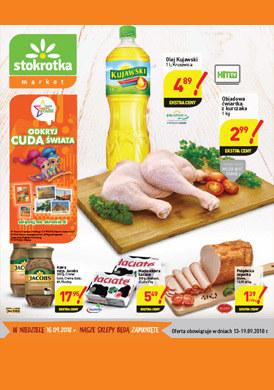 Gazetka promocyjna Stokrotka - Gazetka promocyjna - market