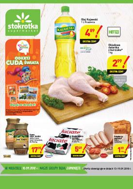 Gazetka promocyjna Stokrotka - Gazetka promocyjna - supermarket