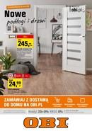 Gazetka promocyjna OBI - Nowe podłogi i drzwi