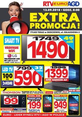 Gazetka promocyjna RTV EURO AGD - Extra promocja! - Skoczów