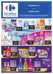 Gazetka promocyjna Carrefour, ważna od 12.09.2018 do 24.09.2018.