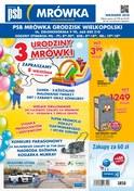 Gazetka promocyjna PSB Mrówka - 3 urodziny Mrówki - Grodzisk Wielkopolski - ważna do 22-09-2018