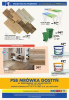 Gazetka promocyjna PSB Mrówka - Wrzesień złotych promocji - Gostyń