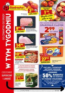 Gazetka promocyjna Biedronka - W tym tygodniu