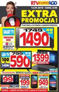 Gazetka promocyjna RTV EURO AGD, ważna od 13.09.2018 do 30.09.2018.