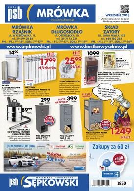 Gazetka promocyjna PSB Mrówka - Oferta handlowa - Długosiodło