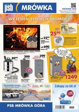Gazetka promocyjna PSB Mrówka - Oferta handlowa - Góra