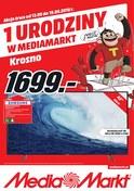 Gazetka promocyjna Media Markt - 1 urodziny w Media Markt - Krosno - ważna do 19-09-2018