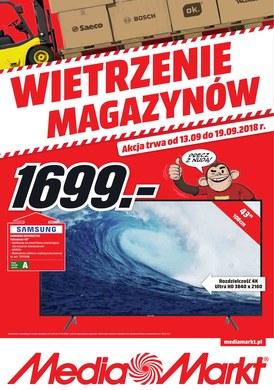 Gazetka promocyjna Media Markt - Wietrzenie magazynów