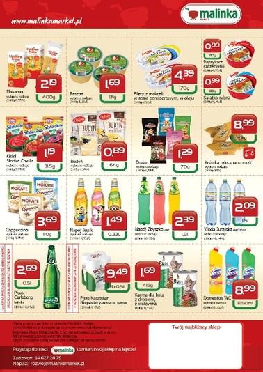 Gazetka promocyjna MALINKA Market, ważna od 13.09.2018 do 26.09.2018.