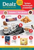 Gazetka promocyjna Dealz - kawa i herbata