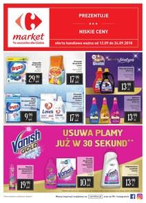 Gazetka promocyjna Carrefour Market, ważna od 12.09.2018 do 24.09.2018.