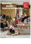 Gazetka promocyjna Black Red White - Katalog mebli tapicerowanych