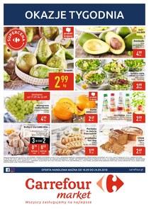 Gazetka promocyjna Carrefour Market, ważna od 18.09.2018 do 24.09.2018.