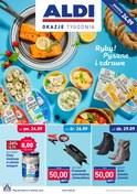 Gazetka promocyjna Aldi - Ryby! pyszne i zdrowe  - ważna do 29-09-2018