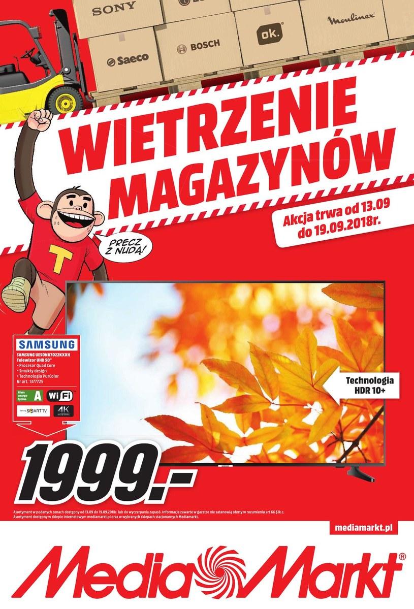 Media Markt: 4 gazetki
