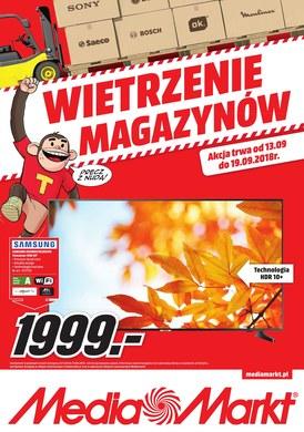 Gazetka promocyjna Media Markt - Wietrzenie magazynów - Łódź