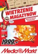 Gazetka promocyjna Media Markt - Wietrzenie magazynów - Łódź  - ważna do 19-09-2018
