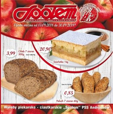 Gazetka promocyjna PSS Andrychów, ważna od 13.09.2018 do 30.09.2018.