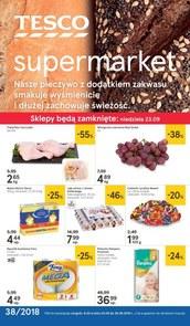 Gazetka promocyjna Tesco Supermarket, ważna od 20.09.2018 do 26.09.2018.