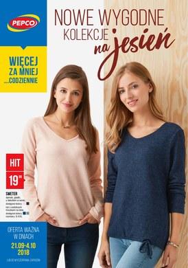 Gazetka promocyjna Pepco - Nowe wygodne kolekcje na jesień