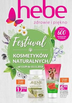 Gazetka promocyjna Hebe - Festiwal kosmetyków naturalnych