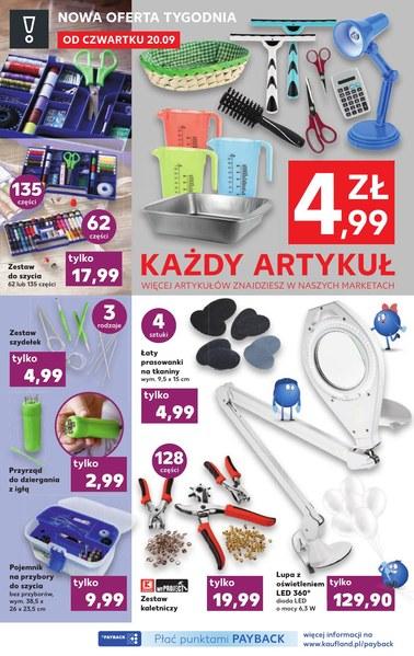 Gazetka promocyjna Kaufland, ważna od 20.09.2018 do 26.09.2018.