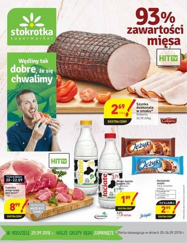 Gazetka promocyjna Stokrotka, ważna od 20.09.2018 do 26.09.2018.